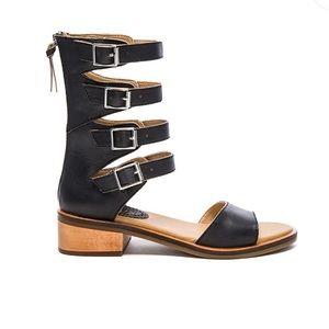 REVOLVE Latigo haiku sandal black
